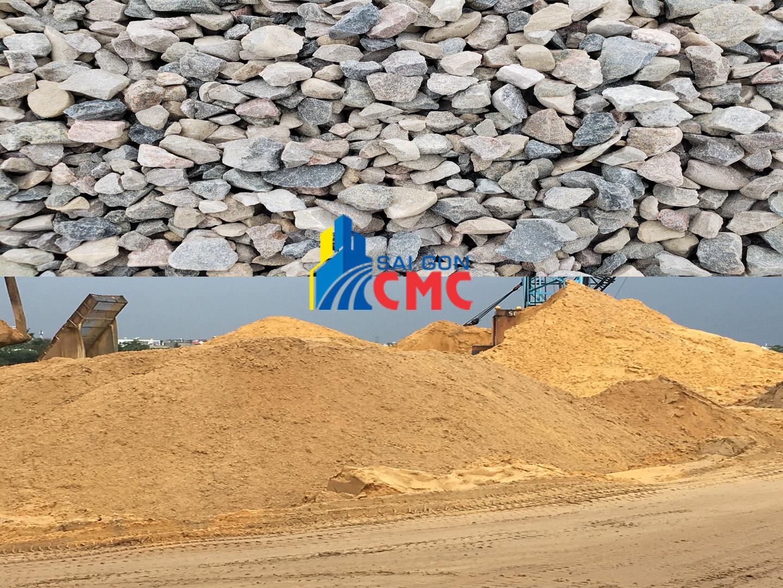 Giá cát đá xây dựng năm 2021 tại TPHCM