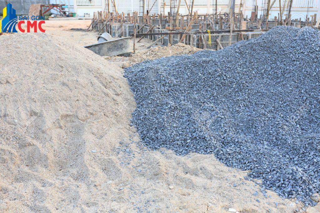 Cát đá xây dựng