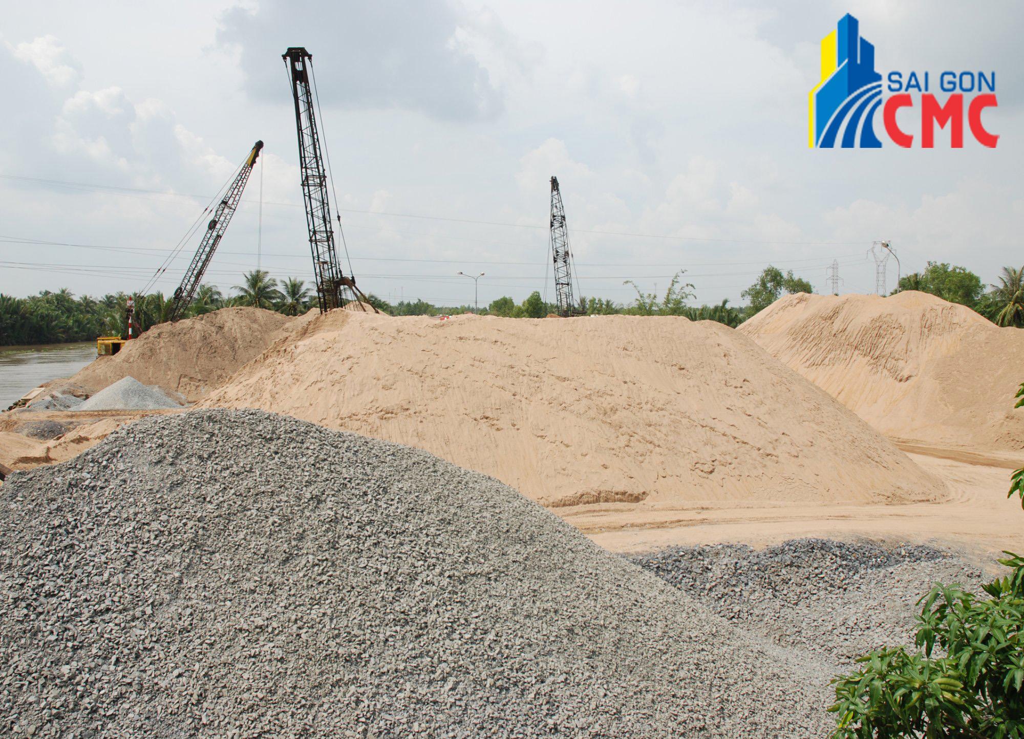 Nhu cầu sử dụng cát đá xây dựng trong ngành nghề xây dựng hiện nay