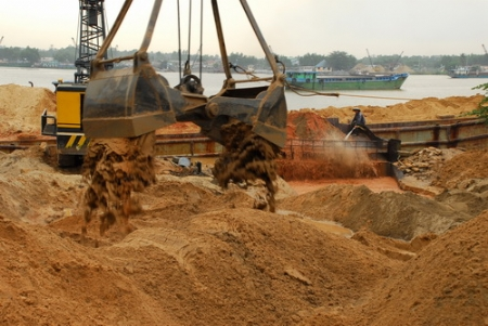 Công ty sản xuất và phân phối cát xây dựng tại quân 5 tphcm