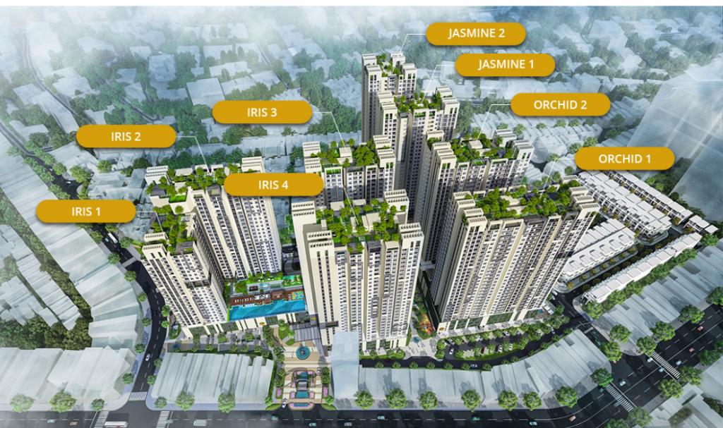Cung cấp vật liệu xây dựng - Dự án Hà Đô 756 Sài Gòn