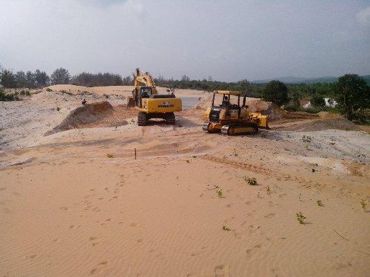 Địa chỉ nhà phân phối cát san lấp quận 5 uy tín, chất lượng cao