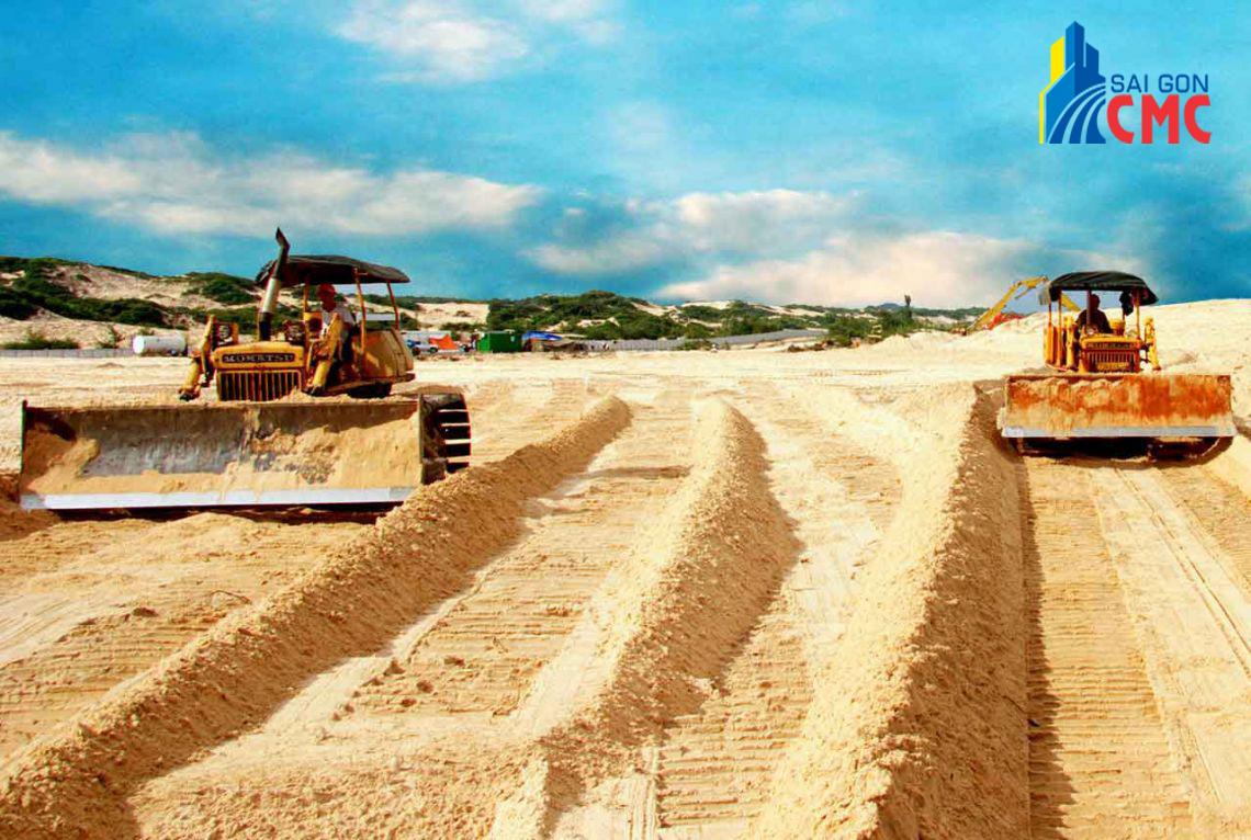 Đơn vị cung cấp cát san lấp uy tín