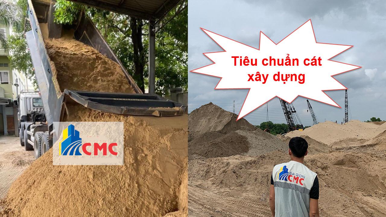 Tiêu chuẩn cát xây dựng là gì?