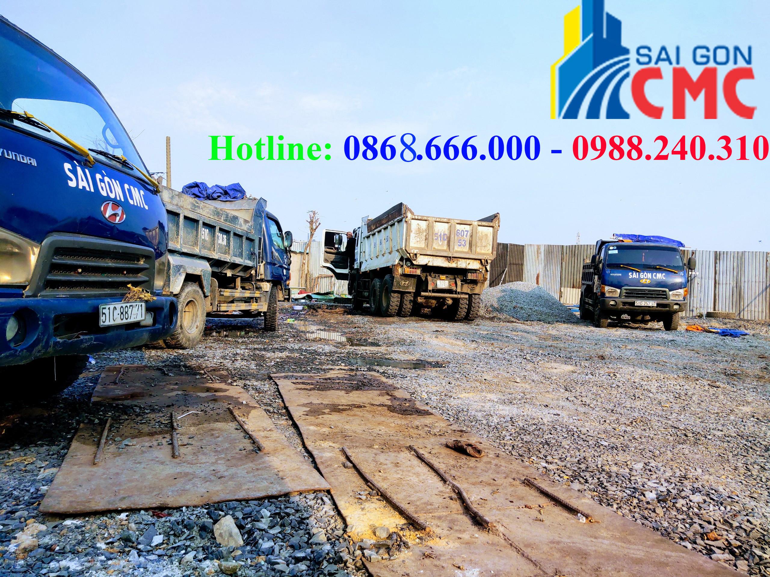 Các mặt hàng vật liệu xây dựng chuyên chở của VLXD CMC