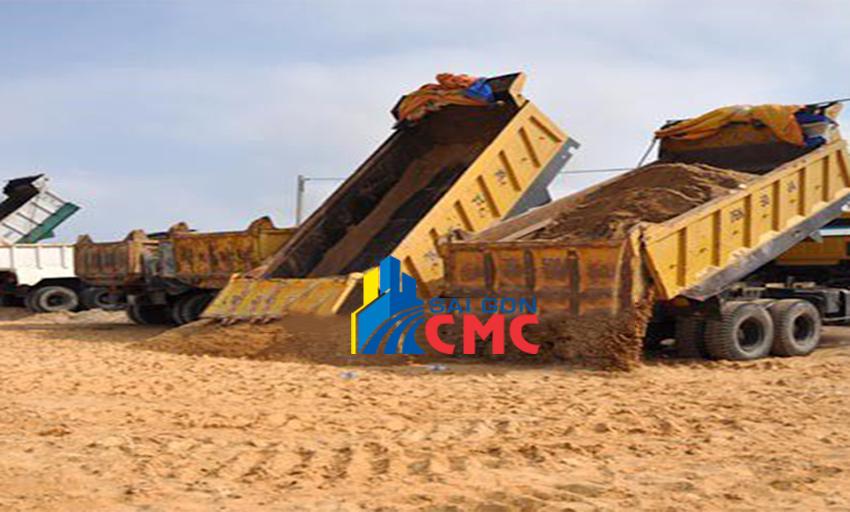 Địa chỉ cung cấp cát san lấp lớn uy tín