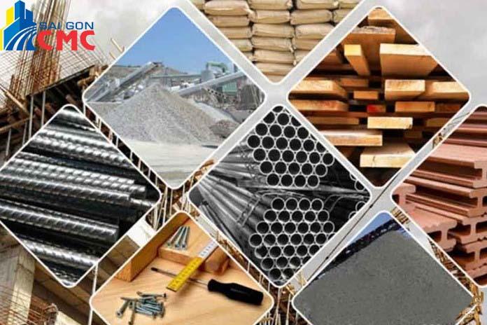 Giá các loại vật liệu xây dựng năm 2021