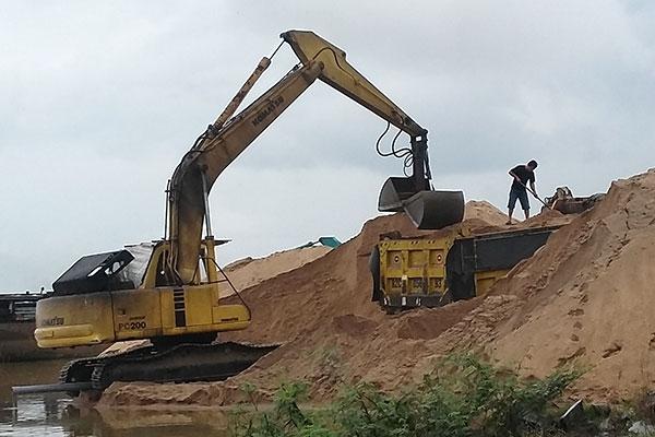 Báo giá cát xây dựng quận Bình Thạnh- Cập nhật hàng ngày bảng giá vật liệu xây dựng