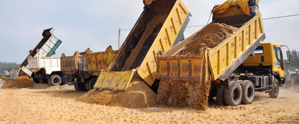 Báo giá cát xây dựng tại quận 2 tphcm – Sài Gòn CMC