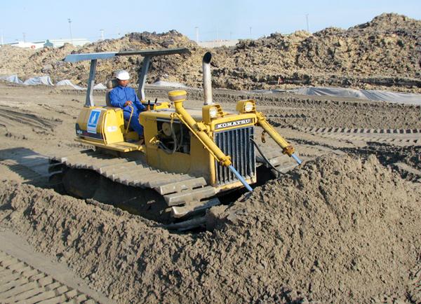 Cát san lấp là gì? Tác dụng của cát san lấp trong thi công xây dựng