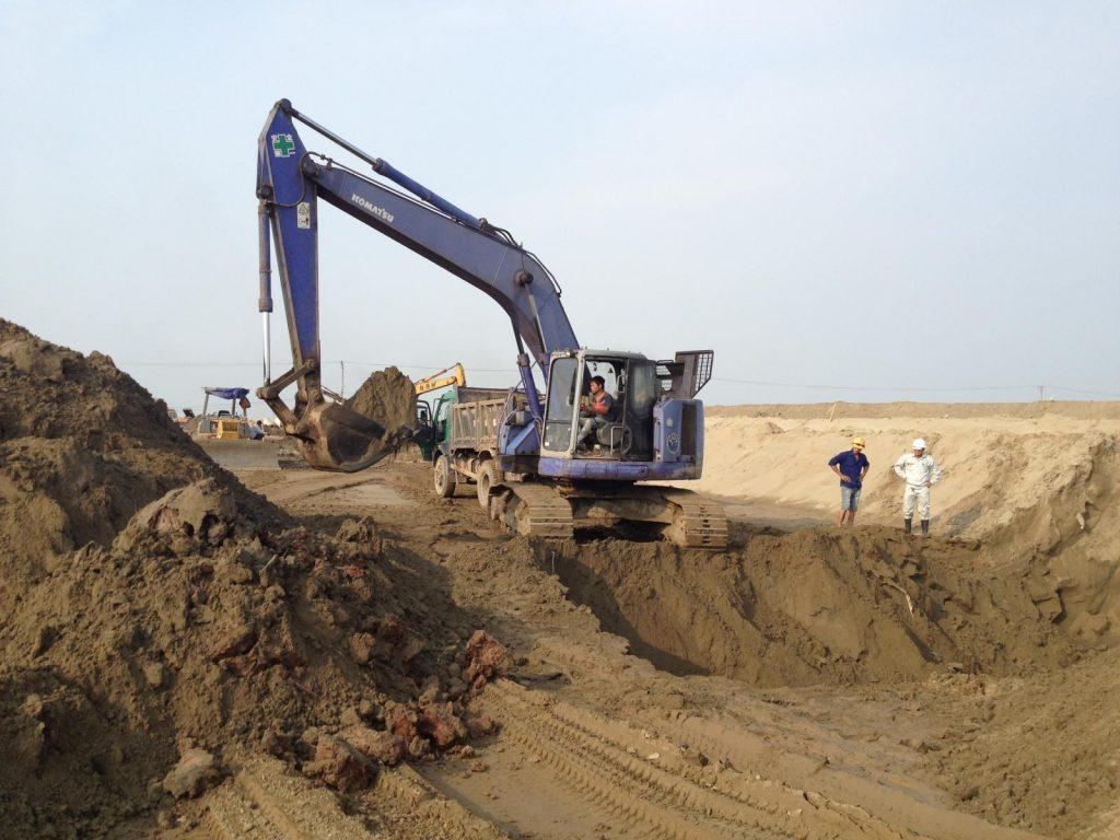 Cơ sở phân phối cát san lấp tại quận 11: Hệ thống phân phối vật liệu xây dựng Sài Gòn CMC