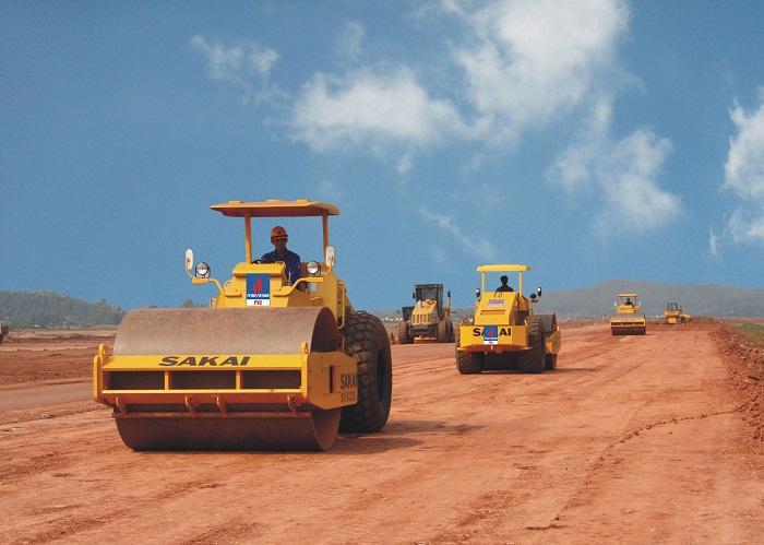 Công ty dịch vụ san lấp mặt bằng xây dựng tại tỉnh Bình Dương