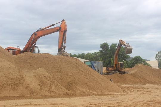 Địa chỉ đại lý cung cấp cát san lấp tại quận Tân Bình
