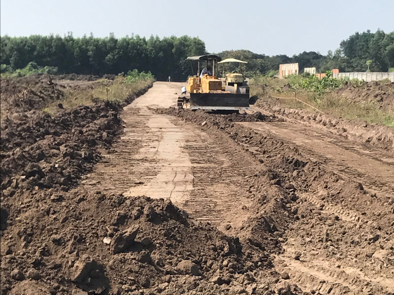 Đơn vị dịch vụ nhận thuê san lấp mặt bằng xây dựng tại quận 7
