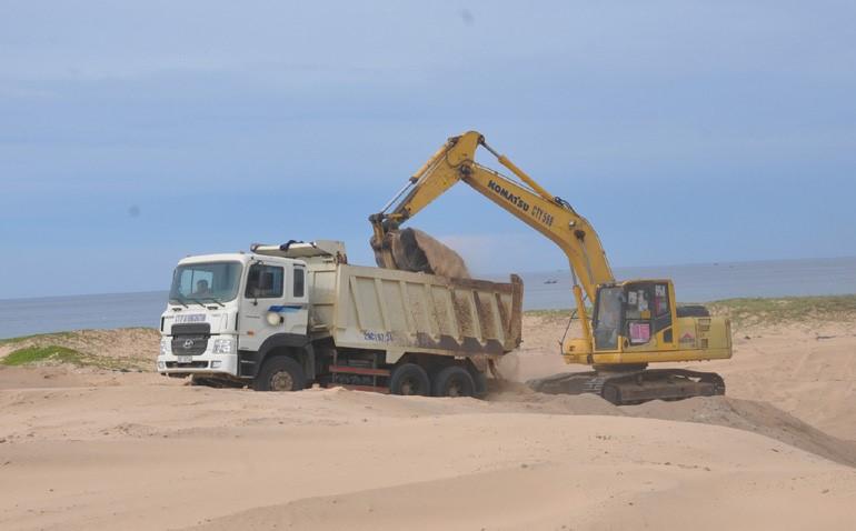 Đơn vị cung cấp cát san lấp số lượng lớn uy tín