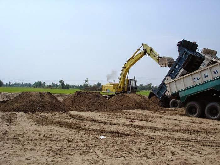 Sài Gòn CMC - Chuyên dịch vụ san lấp mặt bằng tại quận Bình Thạnh
