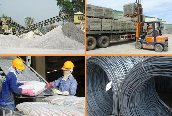 Nhà cung cấp vật liệu xây dựng tại quân 1 tphcm