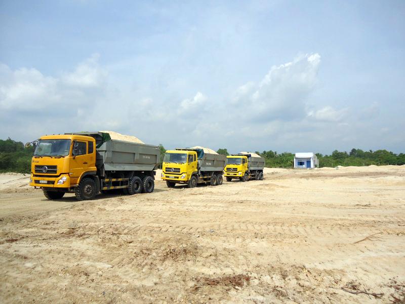 Nhà phân phối cát san lấp tại quận 2: Sài Gòn CMC phân phối vật liệu xây dựng số lượng lớn