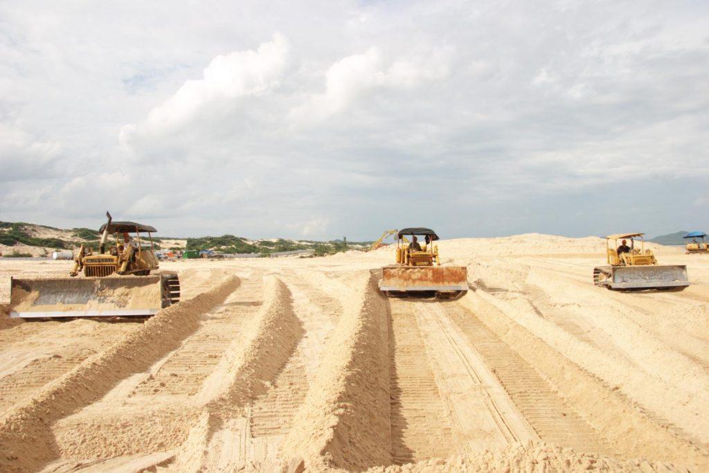 Sài Gòn CMC: Cơ sở cung cấp cát san lấp tại quận 9 với số lượng lớn