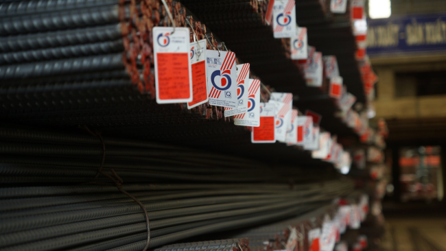 Cửa hàng cung cấp, phân phối sắt thép xây dựng Pomina tại quận 10