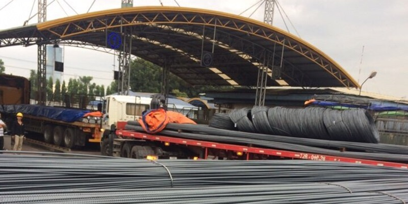 Cửa hàng cung cấp, phân phối sắt thép xây dựng Việt Nhật tại quận 2