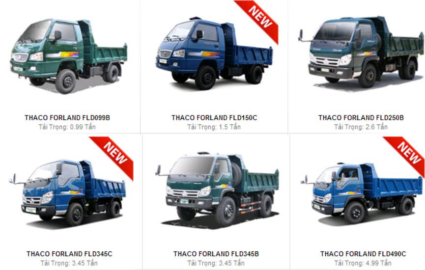Các loại xe tải chuyên dụng hiện nay
