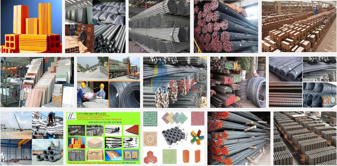 Kinh doanh vật liệu xây dựng thô là kinh doanh mặt hàng gì?