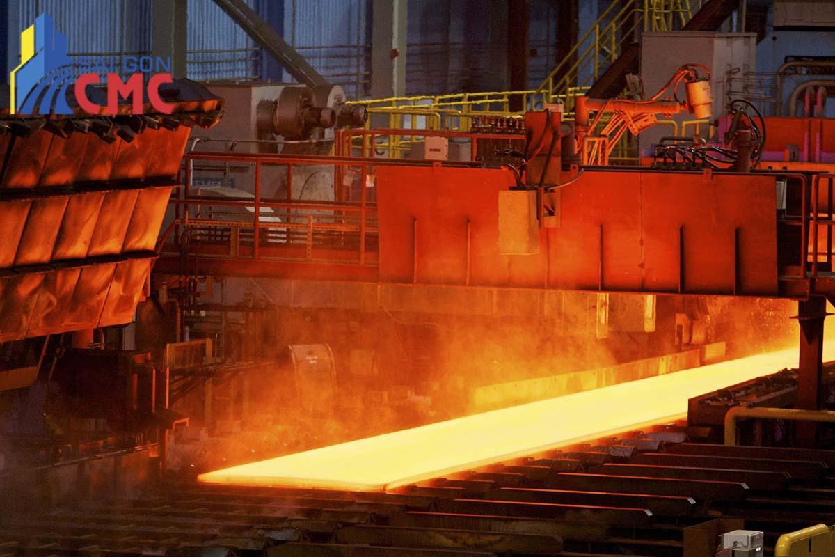 Quy trình sản xuất thép tấm