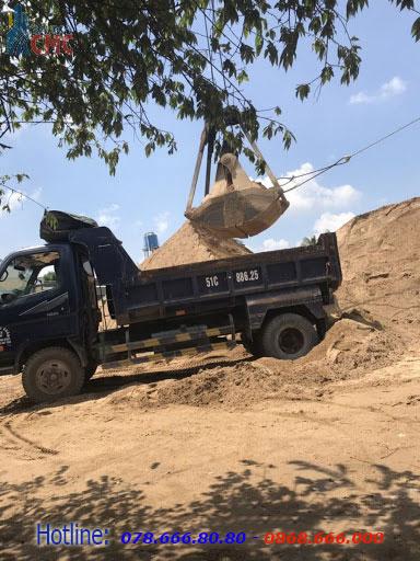 Bảng báo giá cát xây tô Sài Gòn CMC năm 2021 tại Quận 12