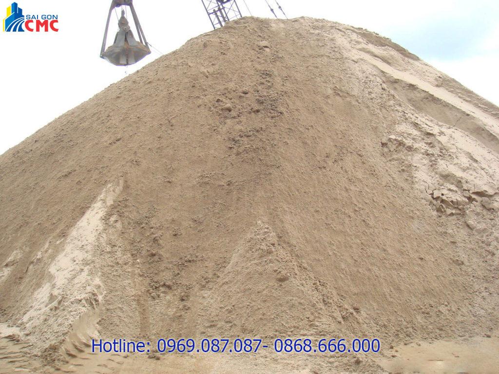 Công dụng của cát san lấp