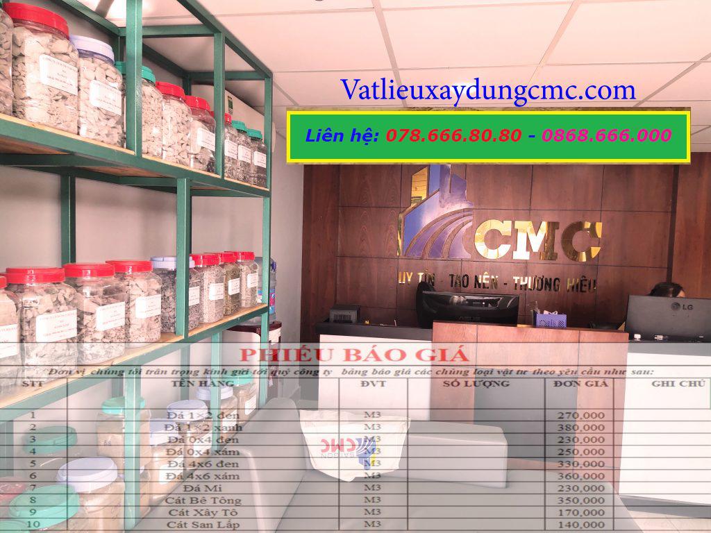 Bảng báo giá cát xây tô Sài Gòn CMC năm 2021 tại Quận 7