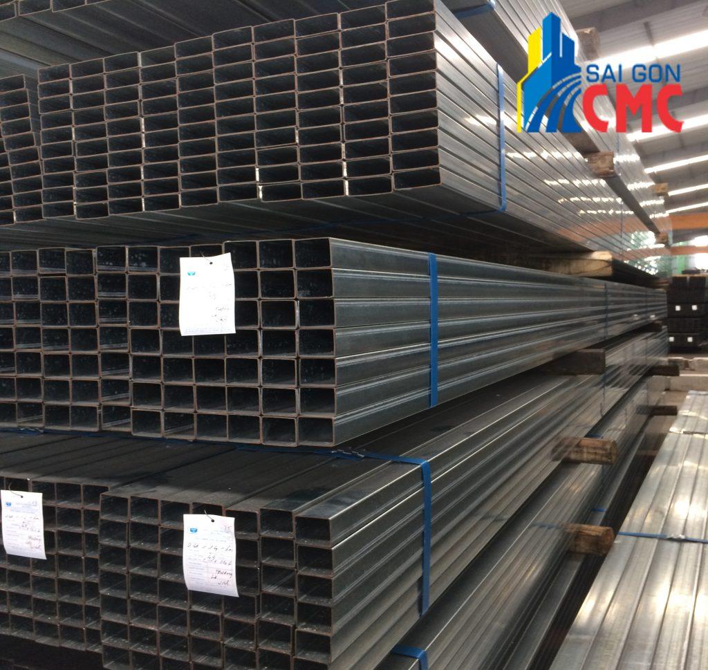Đơn vị cung cấp thép hôp mạ kẽm chất lượng - Sài Gòn CMC
