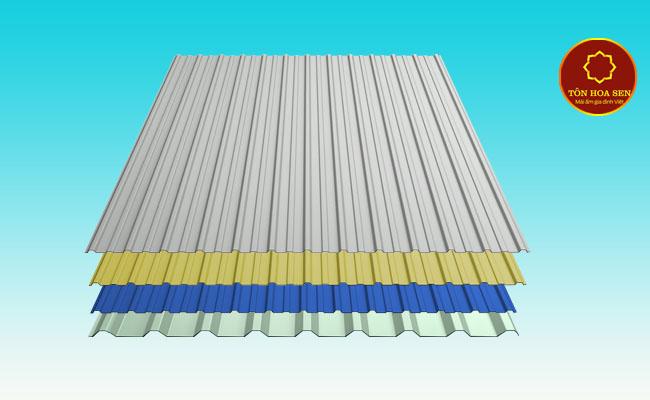 Quy trình cung cấp tôn mạ kẽm Hoa Sen tại vật liệu xây dựng CMC
