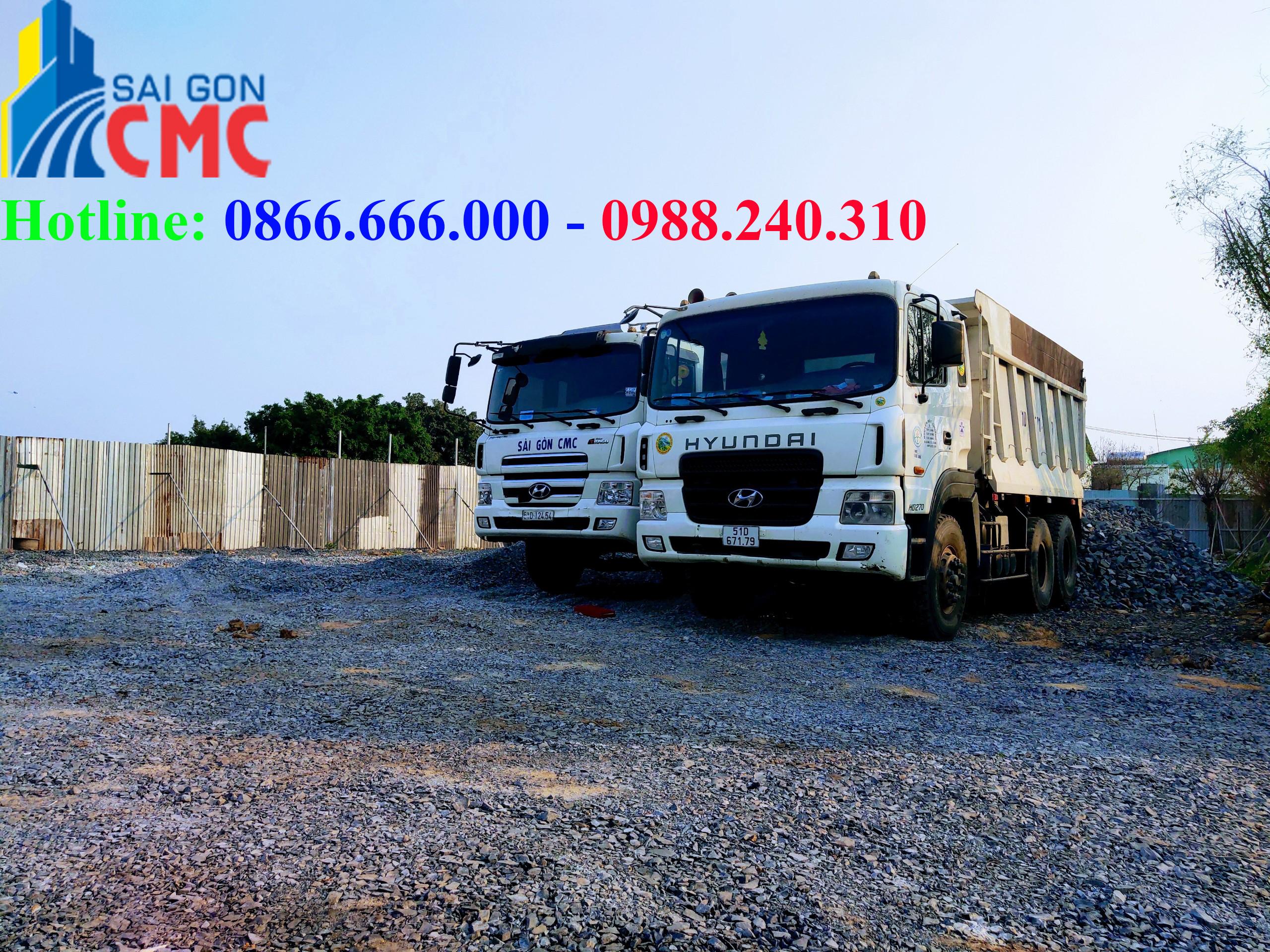 Dịch vụ vận chuyển, đổ dọn xà bần giá rẻ tại TPHCM
