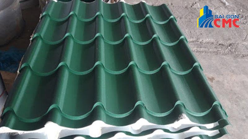 Quy trình cung cấp tôn 6 sóng tại vật liệu xây dựng CMC