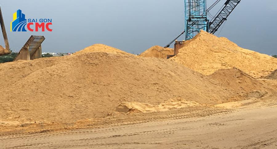 Ứng dụng cát vàng xây dựng