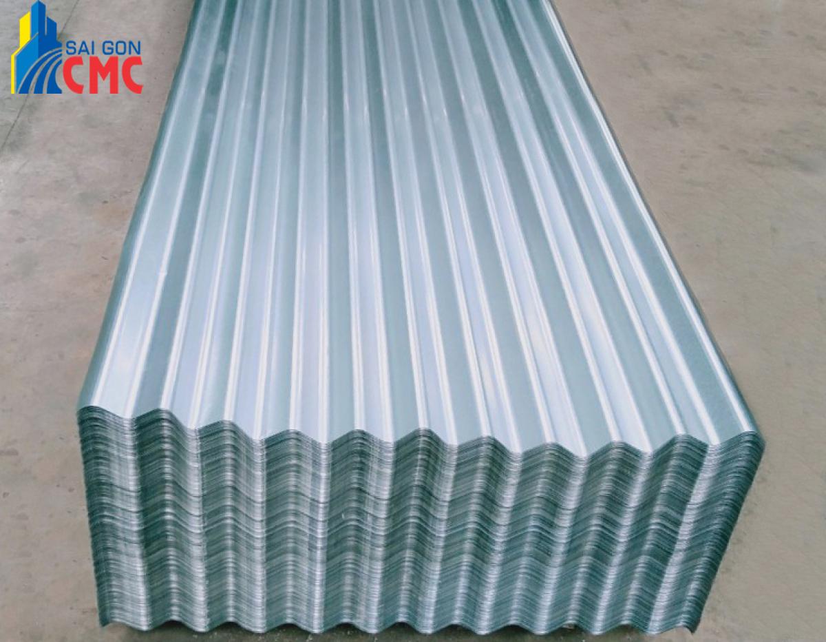 Quy trình cung cấp tôn mạ kẽm tại vật liệu xây dựng CMC