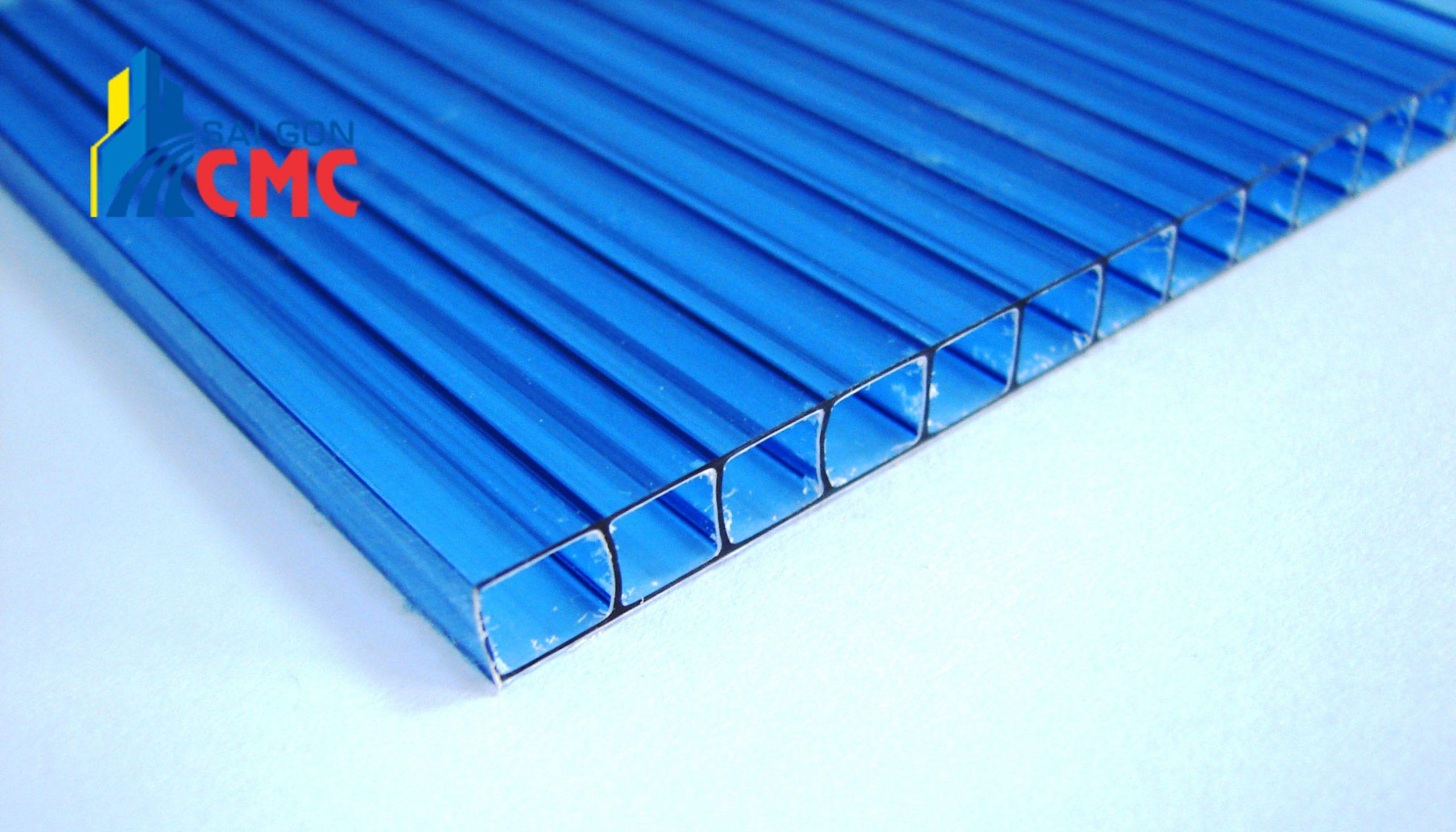Quy trình cung cấp tôn nhựa không sóng tại vật liệu xây dựng CMC