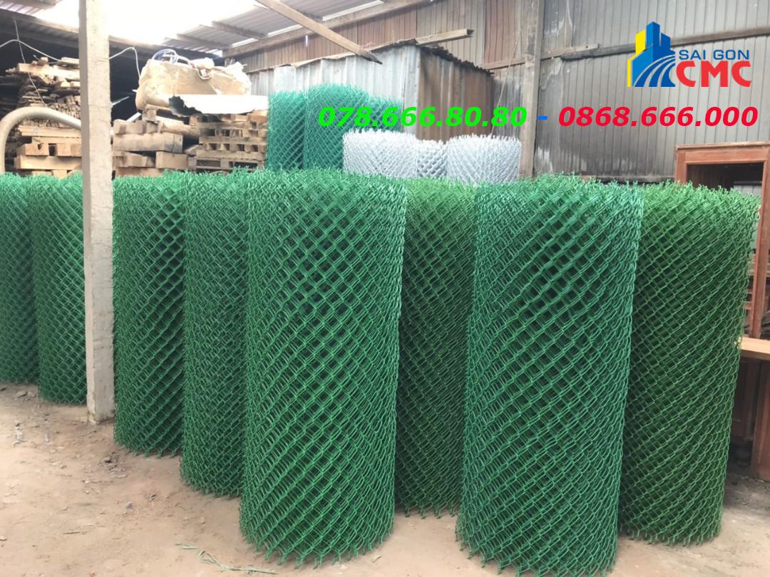 Lưới thép hàn B40 bọc nhựa