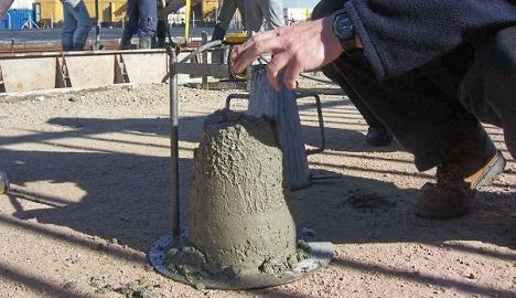 Cách kiểm tra độ sụt bê tông - Vật liệu xây dựng Việt Nam