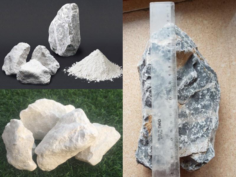 Các loại đá vôi phổ biến hiện nay