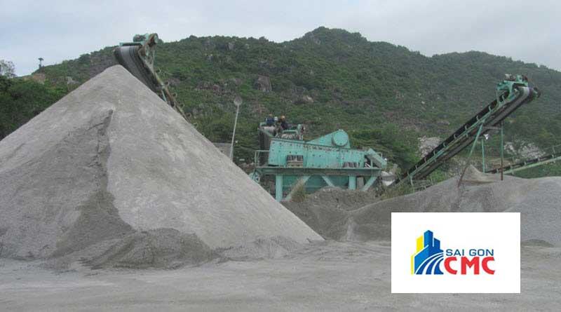 VLXD Sài Gòn CMC là đơn vị cung cấp mạt đá giá rẻ uy tín tại tphcm