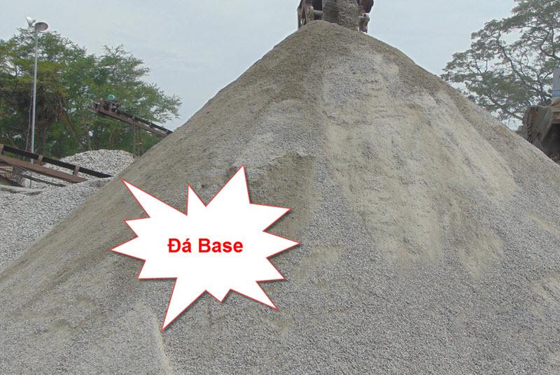 Đá base là loại đá xây dựng loại nhỏ có kích thước từ 0 đến 5 cm