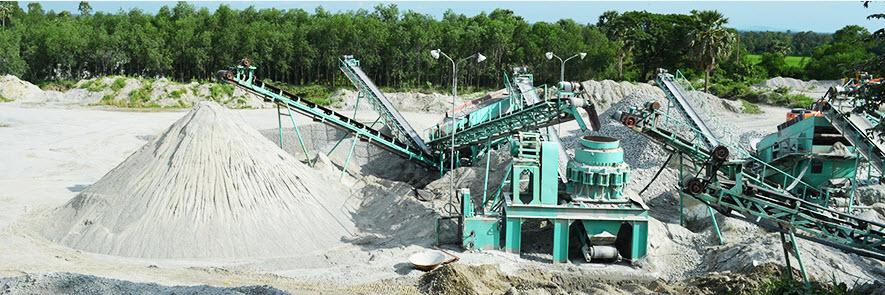 Dây truyền sản xuất đá xây dựng