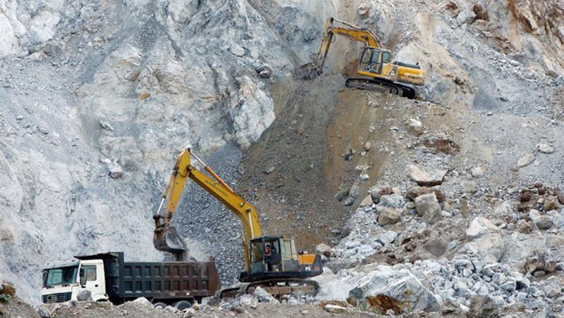 Hiện trạng khai thác đá xây dựng hiện nay