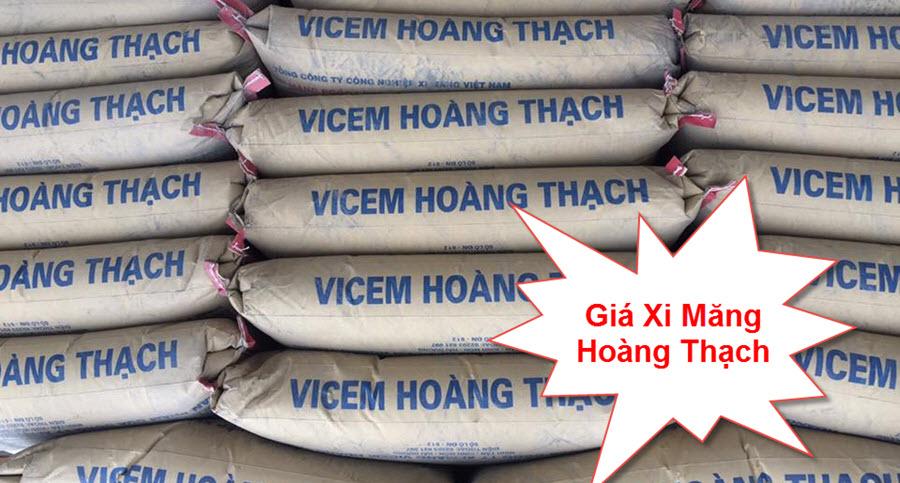Giá xi măng Hoàng Thạch