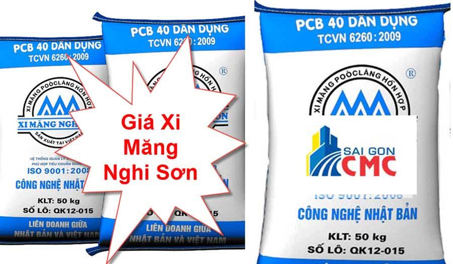 Bảng Báo Giá Xi Măng Nghi Sơn