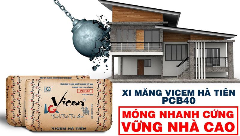 Chọn mua xi măng Hà Tiên cho công trình vững chắc