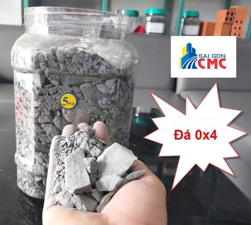 Đá 0x4 là loại đá xây dựng chuyên dùng cấp phối cho nền đường, san lấp mặt bằng