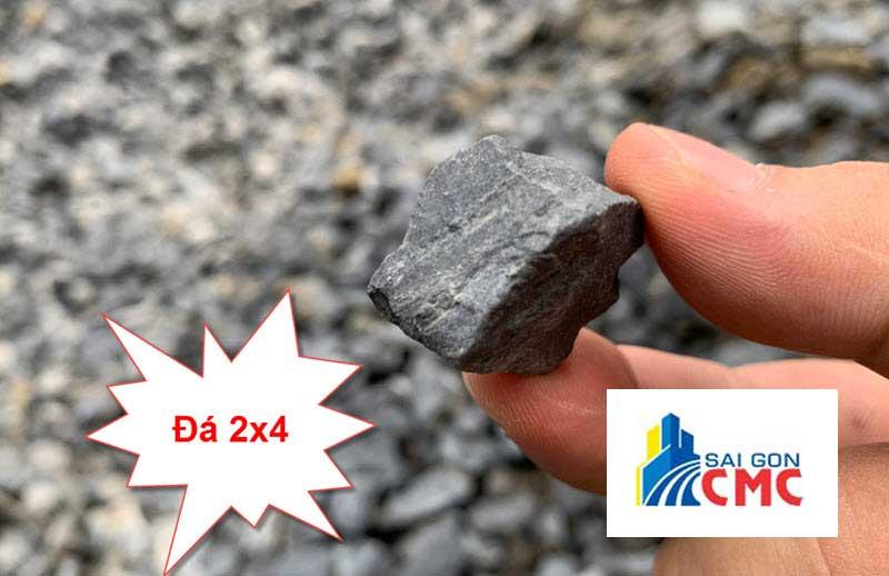 Đá 2×4 là loại đá xây dựng có khả năng chịu nén tốt hay dùng để cấp phối đổ bê tông